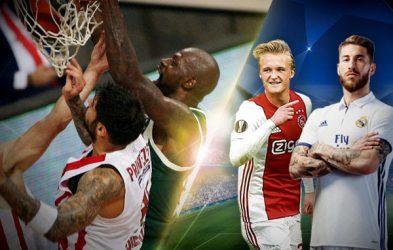 Μεγάλα ματς την Τετάρτη σε «Νίκος Γκάλης» και «Γιόχαν Κρόιφ Αρένα»!